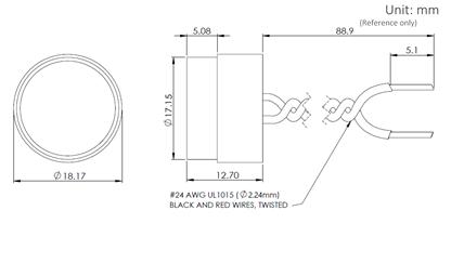 A150D Dimensions